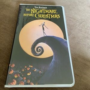 The Nightmare Before Christmas VHS Journal